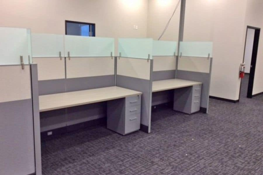 Used Modern Cubicle Set