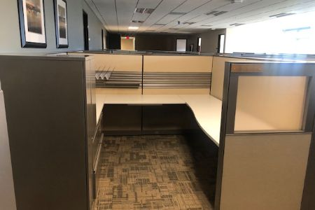 Steelcase 8x8 Cubicle